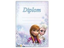 Dětský diplom A4 MFP DIP04-Y05 Disney (Frozen)