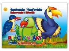 Omalovánky výsek Ptáci 208x290/16s