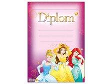 Dětský diplom A4 MFP DIP04-Y09 Disney (Princess)