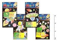 Mozaikový hrací set  vesmír 1689 23x16cm