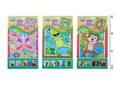 Mozaika 1682 se třpytivými flitry zvířátka 23x16cm
