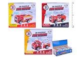 Puzzle 886311 3D hasiči mix
