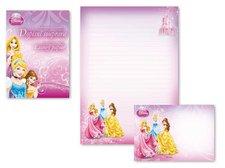 Dopisní papír barevný LUX 5+10 Disney (Princess)