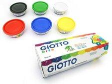Barvy prstové Giotto 6x100ml  534100
