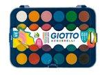 Barvy vodové Giotto krycí 24 barev 30mm + štětec