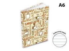 Záznamová kniha A6 MFP 100l/linka ZL6104-055