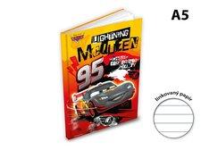 Záznamová kniha A5 MFP 100l/linka ZL5104-Y05 Disney (Cars)