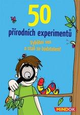 Mindok Karetní Hra 50 přírodních experimentů