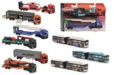 Autobus/Auto transportér kovový 20 cm, 5 druhů