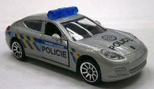 Auto policejní kovové, česká verze