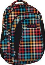 St.Right Studentský batoh Chequered Pattern BP04