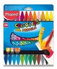 Olejové pastely Maped Color´Peps Oil Pastels - 24 barev