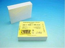 Kostka bílá lepená 8x10x2,5cm