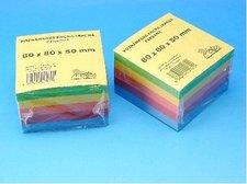 Kostka  5-barevná lepená SCP 8x8x5