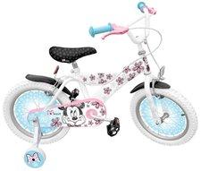 STAMP Minnie Exclusive - Jízdní kolo 16´´ s postranními kolečky