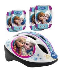 STAMP Frozen - Bezpečnostní set helma, kolenní a loketní chrániče