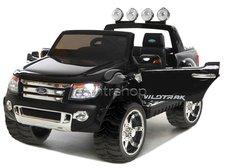 Dimix Elektrické autíčko Ford Ranger Wildtrak Luxury černé, 2 motory, R/C 2,4GHz, EVA kola
