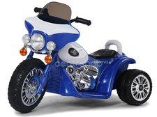 Dimix Elektrická motorka modrá