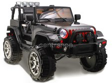 Dimix Elektrické auto JEEP Hellcat, 2 motory, R/C 2,4Ghz, EVA kola