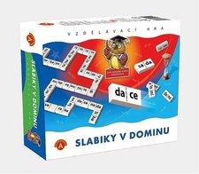Vzdělávací hra - Slabiky v dominu