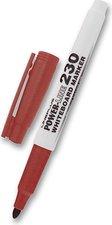 Popisovač na bílé tabule Power 230, červená