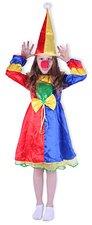 Karnevalový kostým Klaunova slečna s kloboukem,vel.S