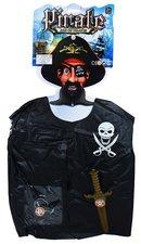 Pirátská vesta s přislušentsvím dětská