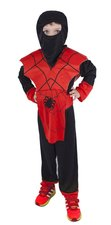 RAPPA Karnevalový kostým NINJA pavouk vel. M