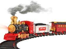 Vláčkodráha s kouřící lokomotivou R/C
