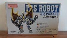 3D puzzle robot