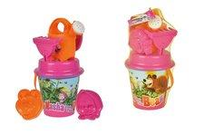 Simba Dětský kyblíček Máša a medvěd s příslušenstvím s konvičkou