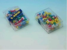 Připínáčky E3121/100ks plast