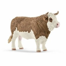 Schleich - Zvířátko - Býk simmentálský