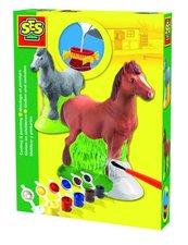 Sádrový komplet - kůň