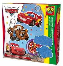 Zažehlovací korálky - Disney Cars, přívěsky na klíče