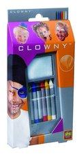 Clowny tužky, 6 barev průměr 7mm