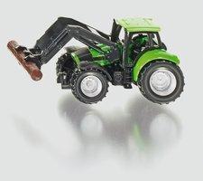SIKU Blister - Traktor s kleštěmi na dříví