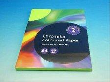 Kancelářský papír A4/100ks reflexní zelelený 80g