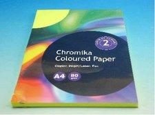 Kancelářský papír A4/100ks reflexní žlutý 80g