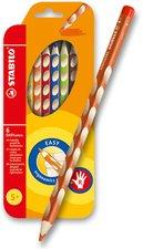 Pastelky Stabilo EASYcolors - 6 barev, pro praváky