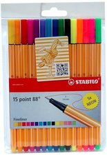 Liner Stabilo Point 88 - souprava 10 + 5 barev
