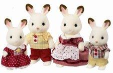 """Sylvanian Families Rodina """"chocolate"""" králíků"""