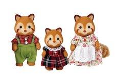 Sylvanian Families Rodina - rodina červené pandy
