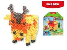 Mikro Trading Mozaika vodní perly 3D 300ks plast jelen s doplňky 5x6mm Paulinda Super Beads v