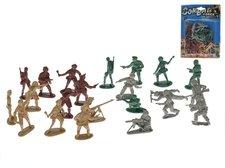 Mikro Trading Sada vojáci plast 24ks na kartě