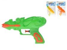 Mikro Trading Vodní pistole plast 16cm asst 3 barvy v sáčku