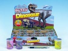 Teddies Sliz - hmota dinosaurus 6cm asst 6 barev