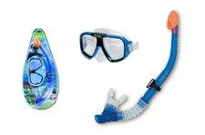 Teddies Potápěčská sada brýle+šnorchl na kartě 8+