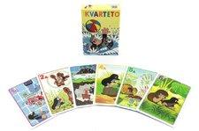 Akim Kvarteto Krtek 1 společenská hra - karty v papírové krabičce