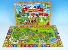 Společenská hra - Cestujeme po hradech a zámcích